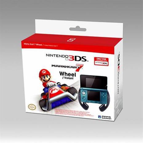 Hori Racing Wheel for 3DS, Nintendo 3DS -tarvike