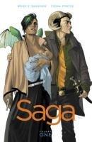 Saga Volume 1 (Brian K. Vaughan), kirja
