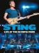 Sting: Live At The Olympia Paris (Blu-Ray), elokuva