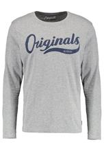 Jack & Jones JORSTUDIO CREW NECK Pitkähihainen paita light grey