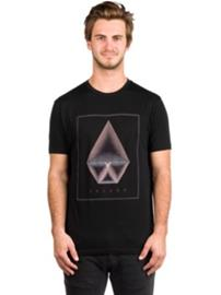 Volcom Concentric DD T-Shirt black Miehet