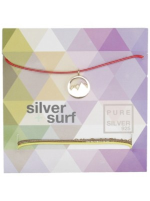 SilverSurf Mountains S Bracelet gold Naiset