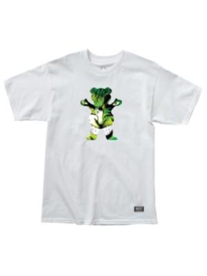 Grizzly X Hulk T-Shirt white Miehet