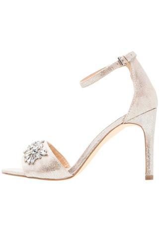 New Look WHOPPER Korolliset sandaalit silver