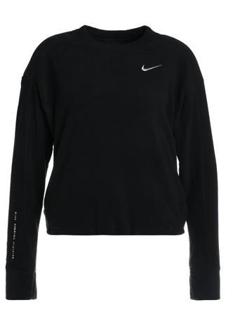 Nike Performance CREW RUNNING DIVISION Fleecepaita black