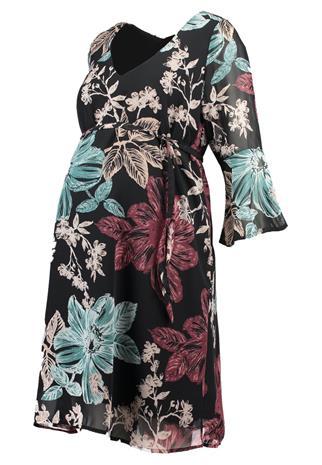 MAMALICIOUS MLBOTANIK DRESS Vapaaajan mekko black