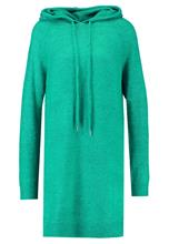 Vero Moda VMRANA HOODIE DRESS Neulemekko pepper green/melange