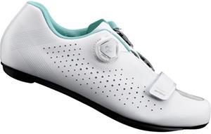 Shimano SH-RP5 Naiset kengät , valkoinen/turkoosi