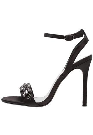 Topshop MISSIE Korolliset sandaalit black