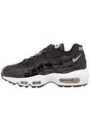 Nike Sportswear AIR MAX 95 SE PRM Matalavartiset tennarit black/cool grey/reflect silver