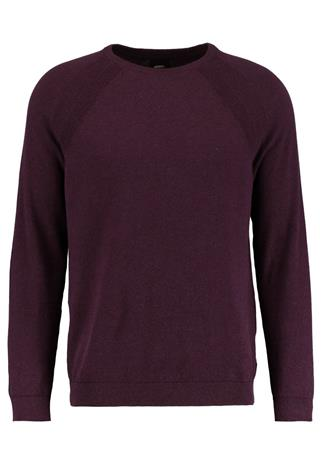 Burton Menswear London CREW Neule purple
