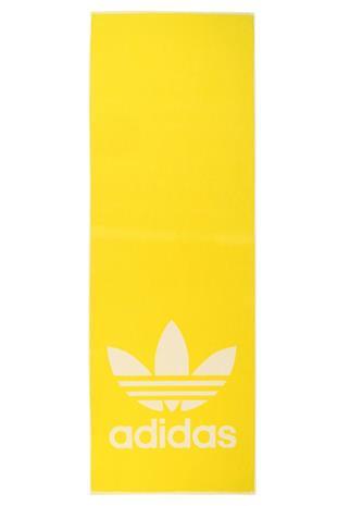 adidas Performance TOWEL ADICOLOR Rantaasusteet yellow/white