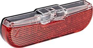 Trelock LS 611 Duo Flat ajovalo , punainen/musta