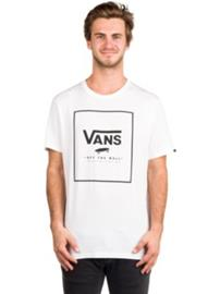 Vans Print Box T-Shirt white / black Miehet