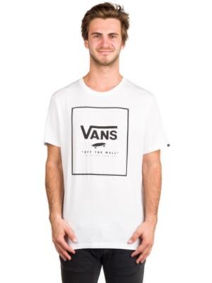 Vans Print Box T-Shirt white / black Miehet