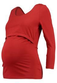 Zalando Essentials Maternity Pitkähihainen paita red
