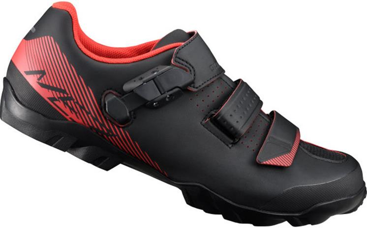 Shimano SH-ME3 Miehet kengät Wide , punainen/musta