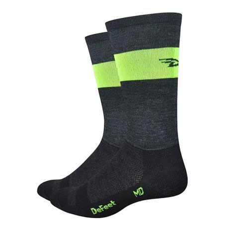 DeFeet Wooleator Team DeFeet sukat , keltainen/musta