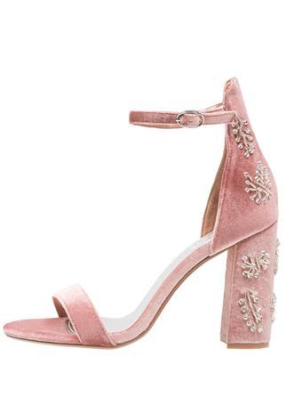 Topshop MILLIONAIRE Korolliset sandaalit nude