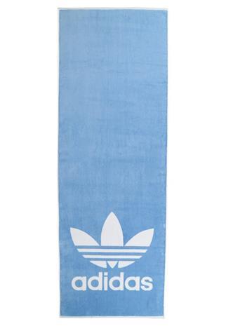 adidas Performance TOWEL ADICOLOR Rantaasusteet ash blue/white