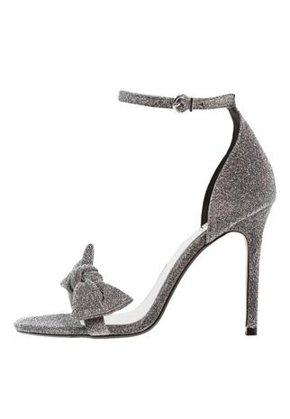 Topshop MESMERISE Korolliset sandaalit silver