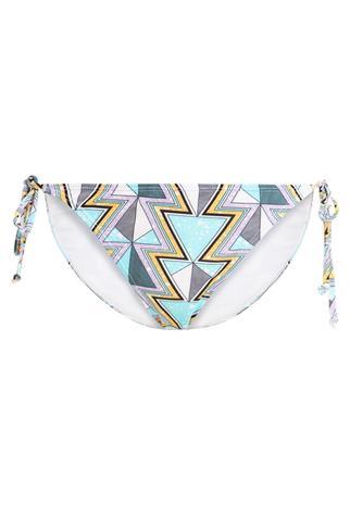 Noisy May NMAMAZON AZTEC STRING BIKINI PANT Bikinialaosa bright white