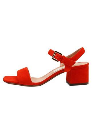 L'Autre Chose Sandaalit nilkkaremmillä red
