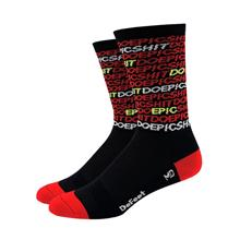 DeFeet Aireator Do Epic Shit sukat , punainen/musta