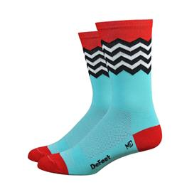 DeFeet Hi Rouleur Aireator Fuse sukat , punainen/sininen