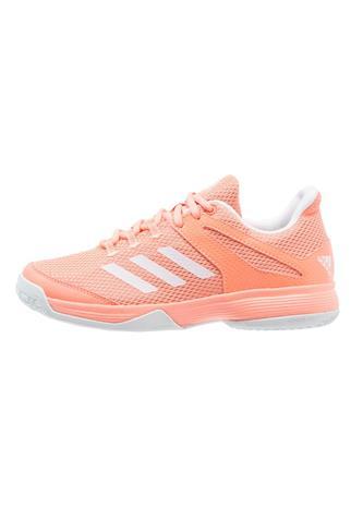 adidas Performance ADIZERO CLUB Tenniskengät ulkokentälle chalk coral/footwear white/blue tint