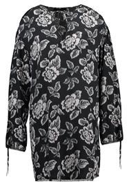 AllSaints ASTER KASURI DRESS Vapaaajan mekko washed black