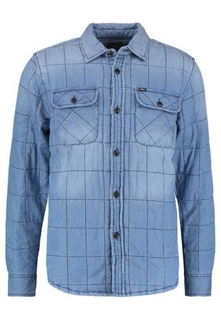 Obey Clothing WRECKER Välikausitakki vintage indigo