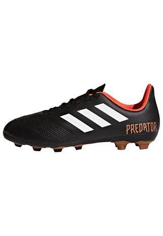 adidas Performance PREDATOR 18.4 FXG J Tekonurmikengät black/white/red