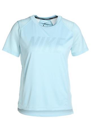 Nike Performance DRY MILER Printtipaita ocean bliss/noise aqua/reflective silv