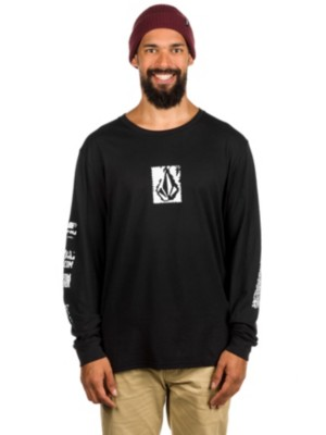Volcom Pixel Stone Bsc T-Shirt LS black Miehet