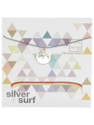 SilverSurf Mountains S Necklace gold Naiset