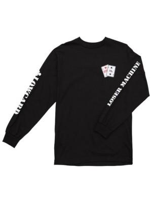 Loser Machine Lmc X Lowcard Gambler T-Shirt LS black Miehet