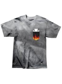 Grizzly X Ghost Rider Flame T-Shirt tie dye Miehet