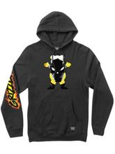 Grizzly X Ghost Rider Hoodie black Miehet