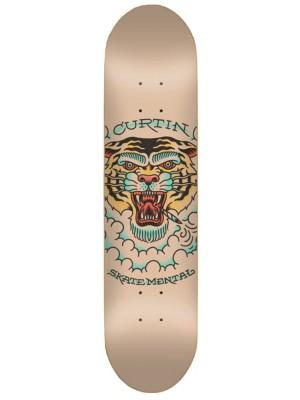 "Skate Mental Curtin Tiger 8.375"""" Skateboard Deck uni"