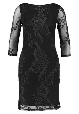 Wallis EMBROIDERED DRESS Juhlamekko black