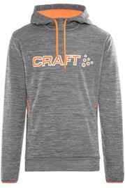Craft Logo Miehet huppari , harmaa