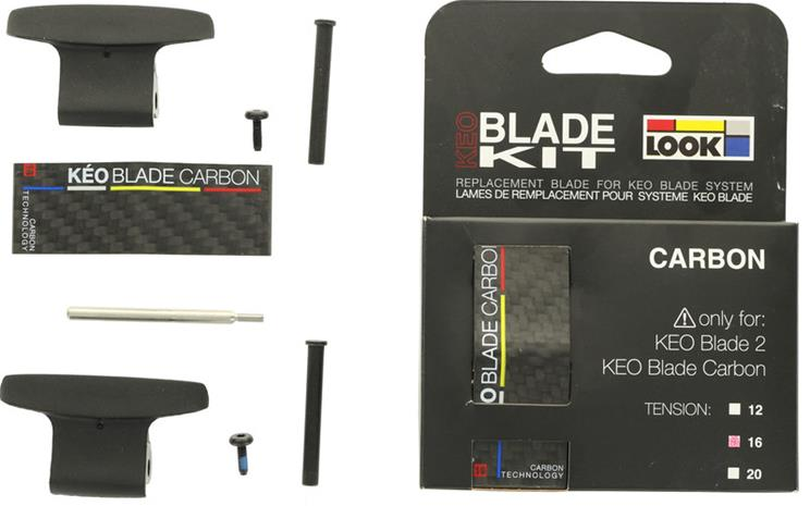 Look Kéo Blade Carbon 16Nm , musta