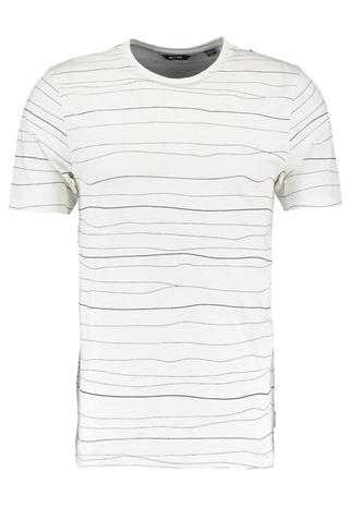 Only & Sons ONSBARAT SLIM TEE Printtipaita cloud dancer