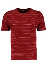 Only & Sons ONSBARAT SLIM TEE Printtipaita madder brown