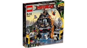 Lego Ninjago Movie 70631, Garmadonin tulivuoripiilo