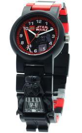 Lego Star Wars Darth Vader, lasten rannekello ja minifiguuri