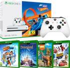 Xbox One S (500 GB) + 5 peliä, pelikonsoli