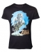 Zelda Breath of the Wild Link on Chest T-paita L
