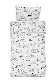 Rätt Start Muumi, pussilakanasetti 150 x 210 cm
